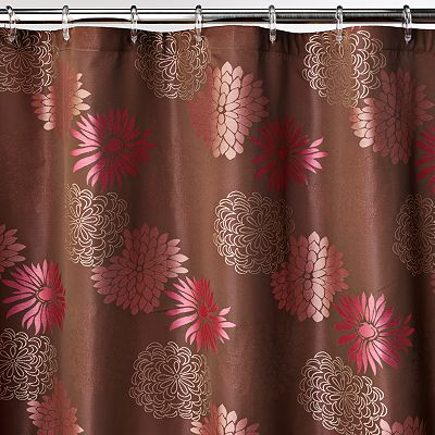 Home Classics Mariana Floral Fabric Shower Curtain