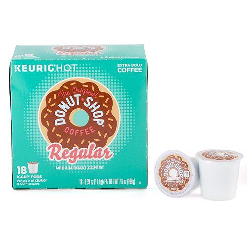 The Original Donut Shop Regular Coffee Keurig® K-Cup® Pods, Medium Roast, 18 Count