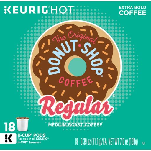 Keurig® K-Cup® Pod Coffee People Donut Shop Coffee - 18-pk.
