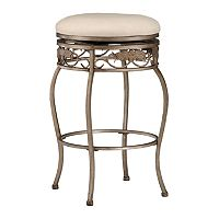 Bordeaux BacklessSwivel Counter Stool