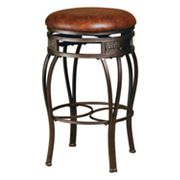 Montello Backless Swivel Bar Stool