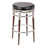 Salem Backless Swivel Bar Stool