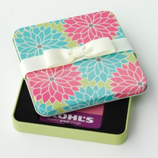 Floral Gift Card Tin