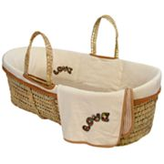 Tadpoles Love Organic Cotton Moses Sleeping Basket