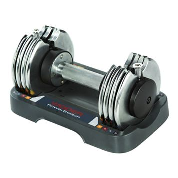 Weider PowerSwitch 25-lb. Adjustable Hand Weight