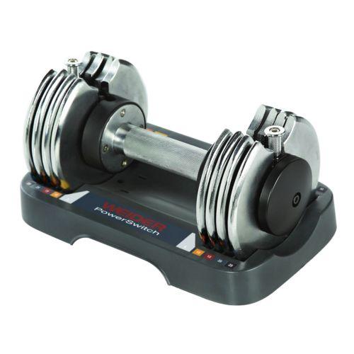 Weider PowerSwitch 25-lb. Adjustable Hand Weight