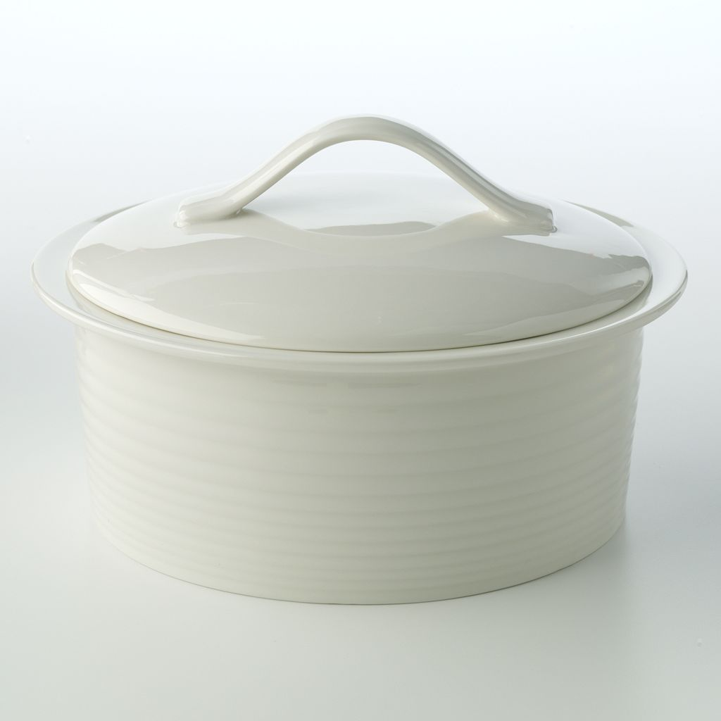 Royal Doulton Gordon Ramsay Taupe Maze 2-qt. Covered Casserole Dish