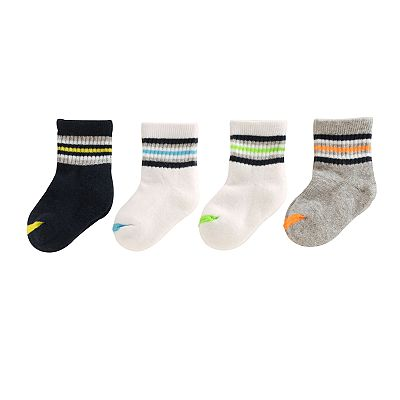 SONOMA life + style 4-pk. Striped Crew Socks