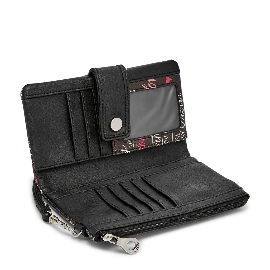 Relic Vicky Contrast Convertible Checkbook Wallet