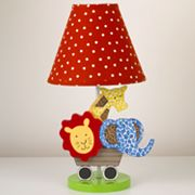 Cotton Tale Animal Tracks Lamp