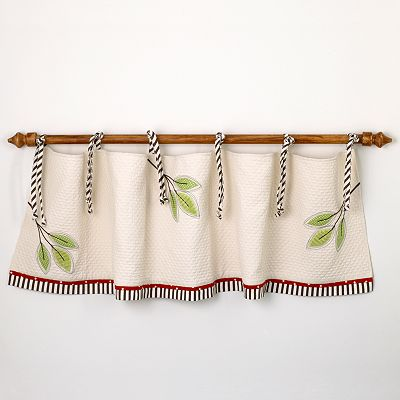 Cotton Tale Animal Tracks Window Valance