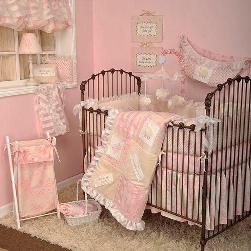 Cotton Tale 4 Pc Heaven Sent Girl Crib Bedding Set