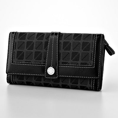 Nine and Co. Broadway Midtown Checkbook Wallet