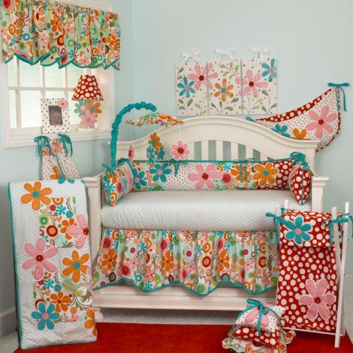 Cotton Tale 4-pc. Lizzie Crib Bedding Set