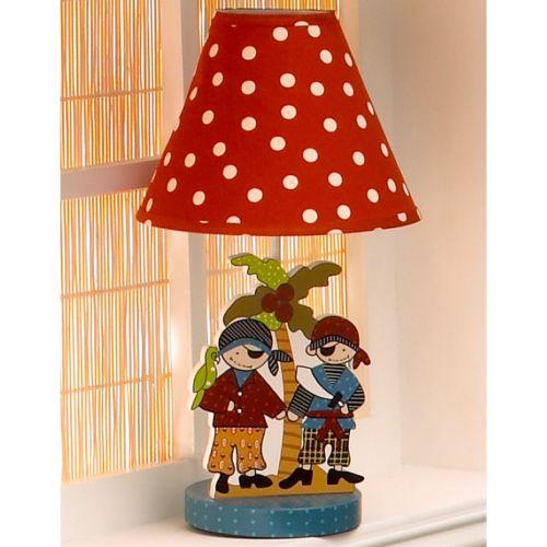Cotton Tale Pirates Cove Lamp