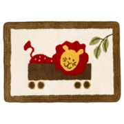 Cotton Tale Animal Tracks Rug