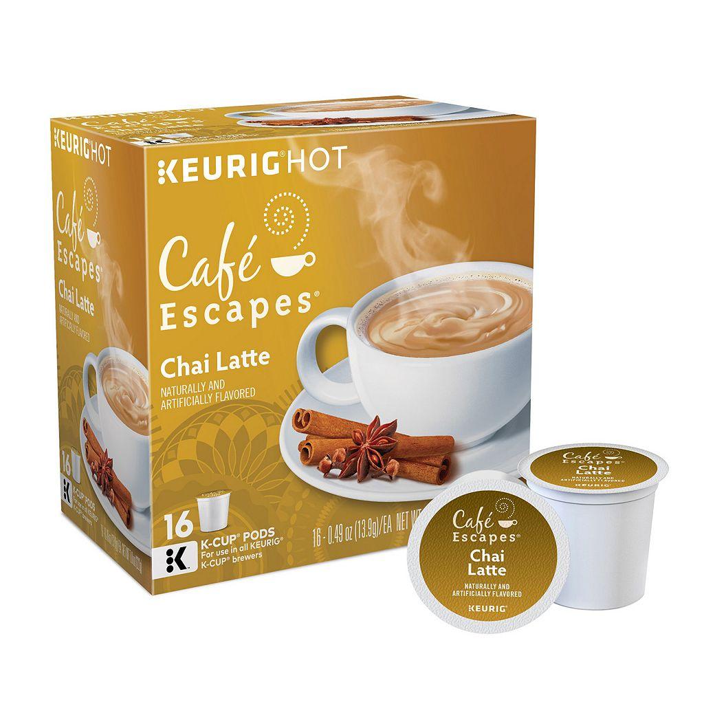 Keurig® K-Cup® Pod Cafe Escapes Chai Latte - 16-pk.
