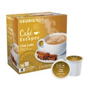 Keurig K-Cup Portion Pack Cafe Escapes Chai Latte - 16-pk.
