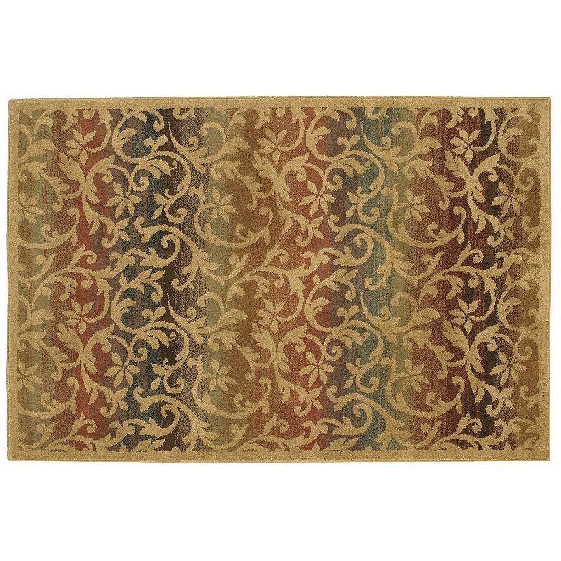 Shaw living accents ornament floral rug 7 39 9 39 39 x 10 39 10 39 39 - Shaw rugs discontinued ...