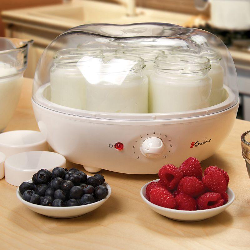 Euro cuisine automatic yogurt maker ym100 for Cuisine 800 euros
