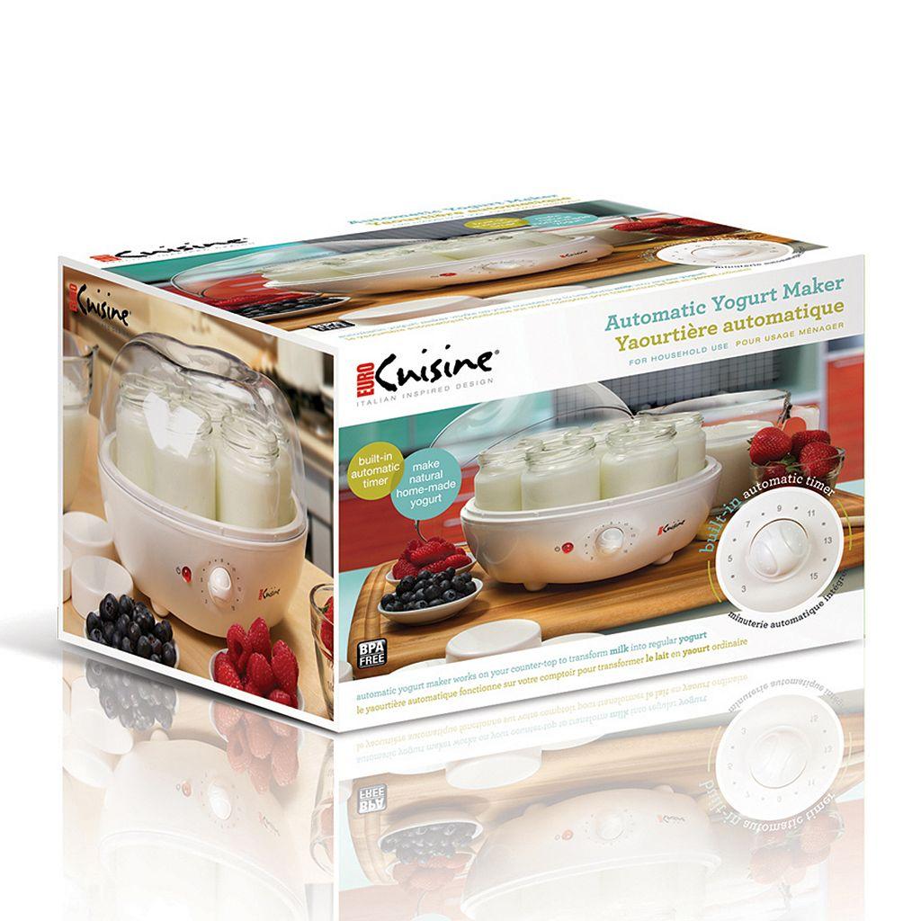 Euro cuisine yogurt maker for Cuisine yourte
