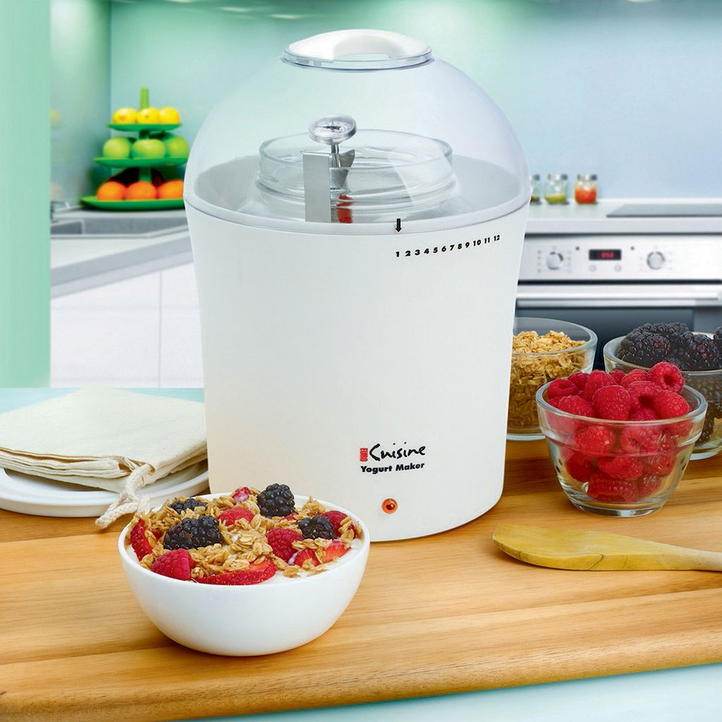 Euro Cuisine 2-qt. Yogurt and Greek Yogurt Maker