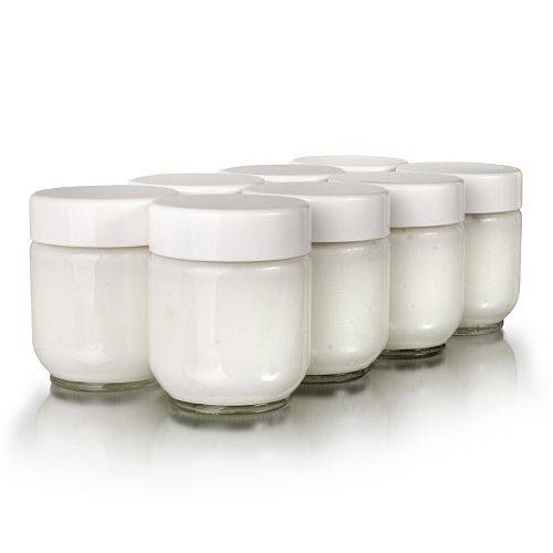 Euro Cuisine 8-pc. Yogurt Jar Set
