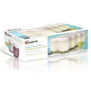 Euro Cuisine 8-pc. Yogurt Jar Set