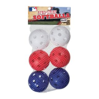 Franklin MLB 6-pk. Aero-Strike Softballs