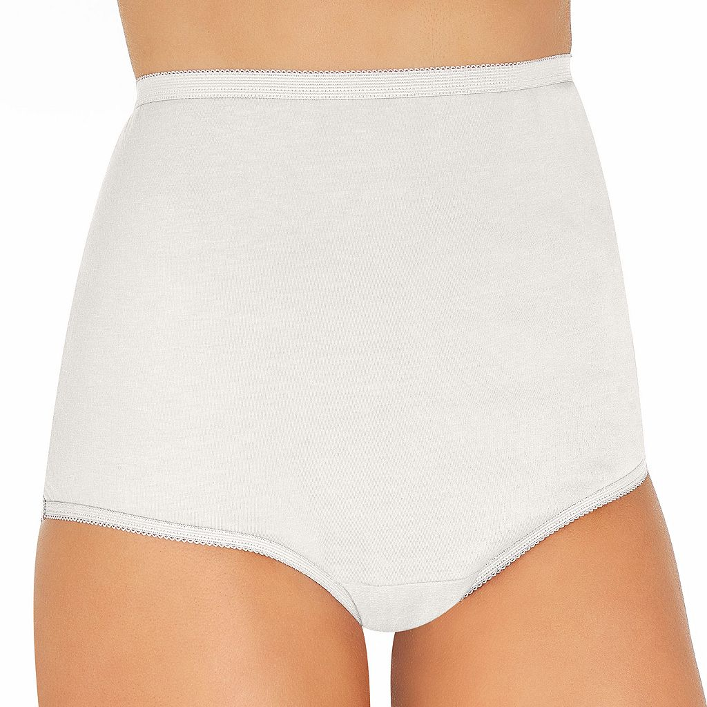 Vanity Fair Perfectly Yours Tailored Cotton Brief 15318