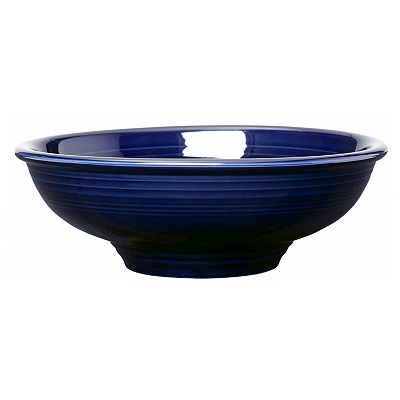 Fiesta Cobalt Pedestal Serving Bowl