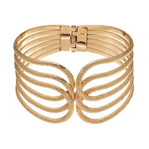 SONOMA Goods for Life™ Loop Hinged Bangle Bracelet