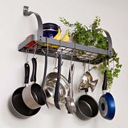 RACK IT UP! Bookshelf Pot Rack