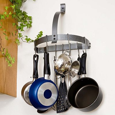 RACK IT UP! Half Moon Pot Rack