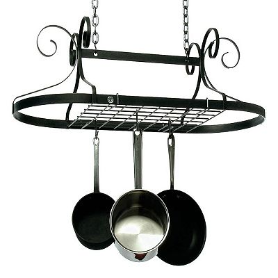 Enclume Decor Oval Pot Rack
