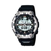 Casio Stainless Steel Analog and Digital Tidal Graph Sports Watch - Men