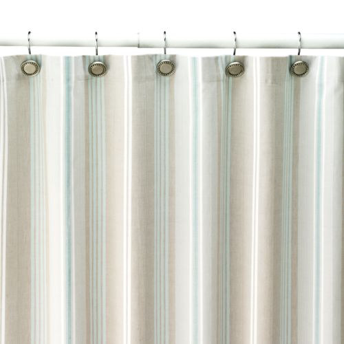 SONOMA life + style® Tiburon Striped Fabric Shower Curtain