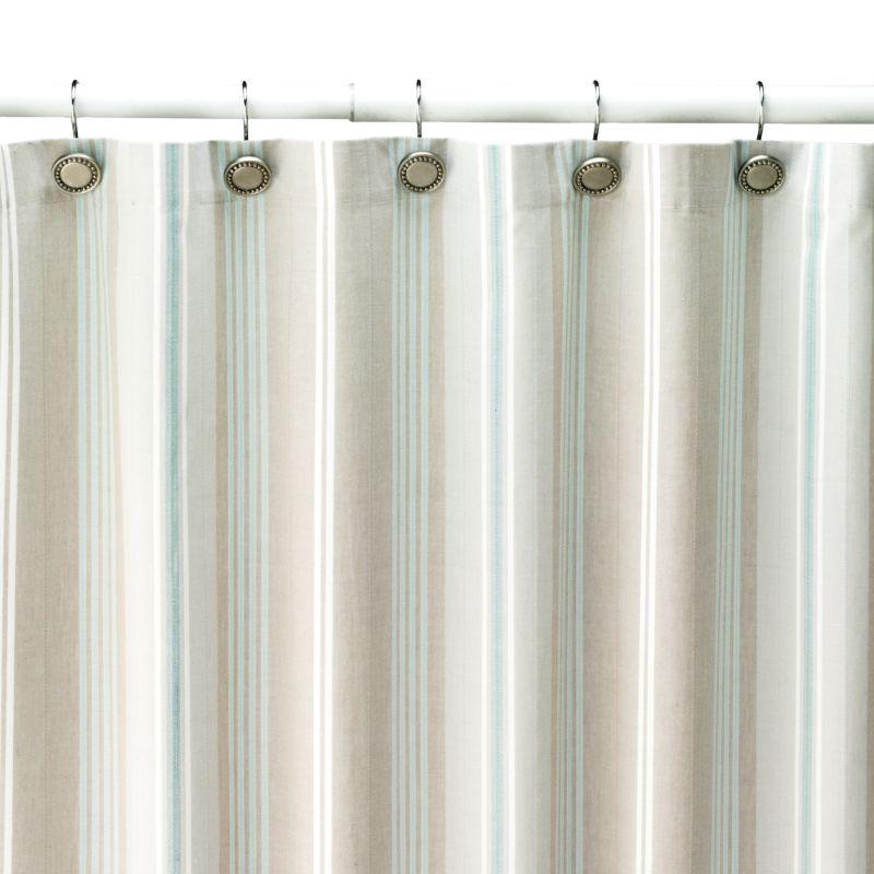 SONOMA life + style Tiburon Striped Fabric Shower Curtain