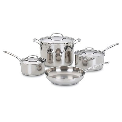 Cuisinart Chef's Classic 7-pc. Stainless Steel Cookware Set