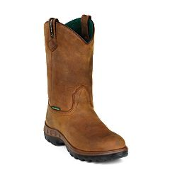 John Deere Men's Waterproof Steel-Toe Work Boots