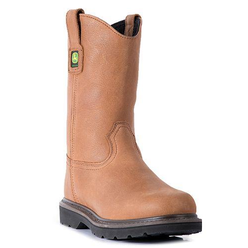 John Deere Men's Wellington Work Boots