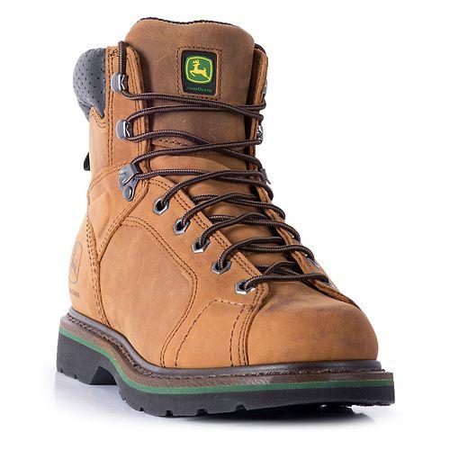 John Deere Tractor Series Lace-to-Toe Men's Work Boots