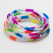 SO Glitter Bangle Bracelet Set