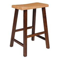 International Concepts Saddle Seat Counter Stool