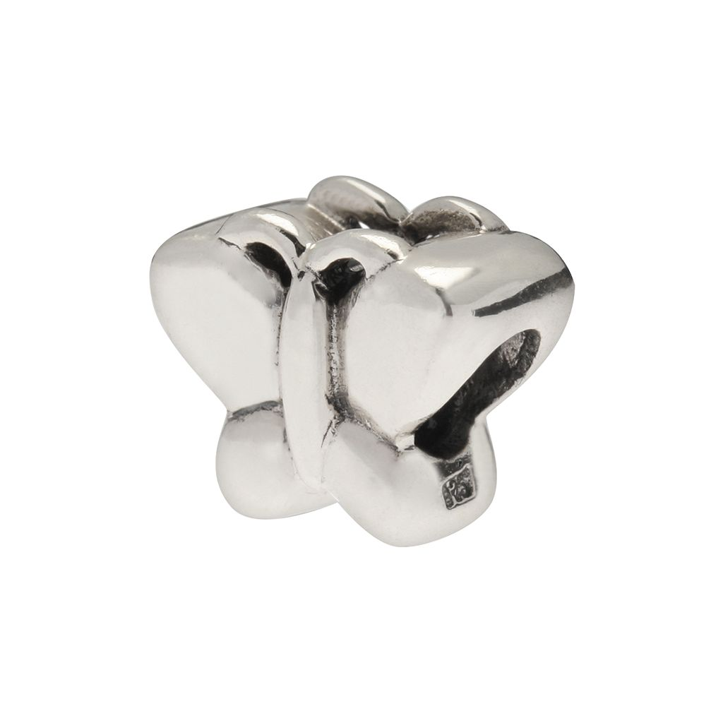 Individuality Beads Sterling Silver Butterfly Bead