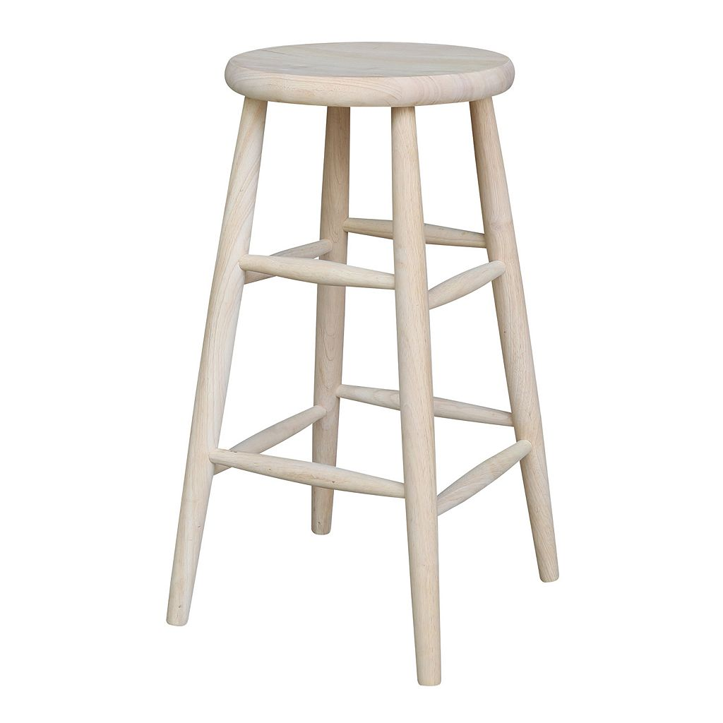Scooped Seat Bar Stool