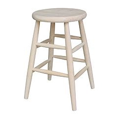Scooped Seat Counter Stool