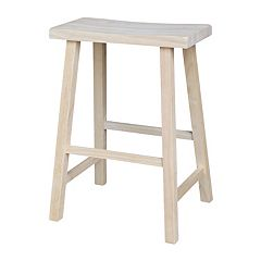 Saddle Seat Counter Stool