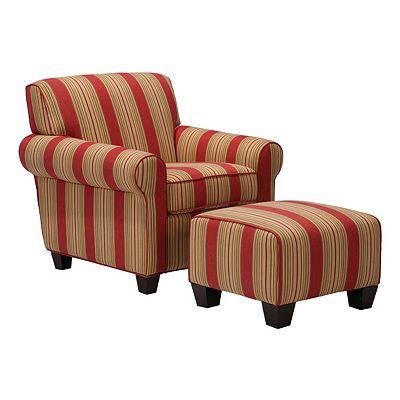 Handy Living Winnetka Chair and Ottoman Set