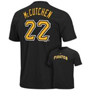 Majestic Pittsburgh Pirates Andrew McCutchen Tee